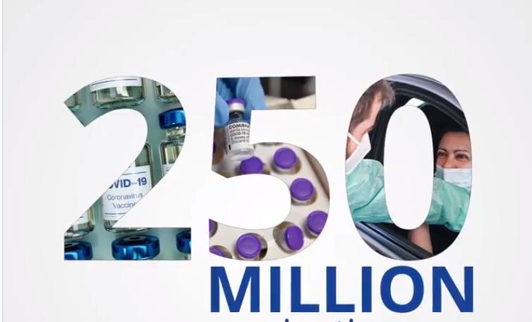 UE a depășit pragul de 250 de milioane de cetățeni vaccinați anti-COVID