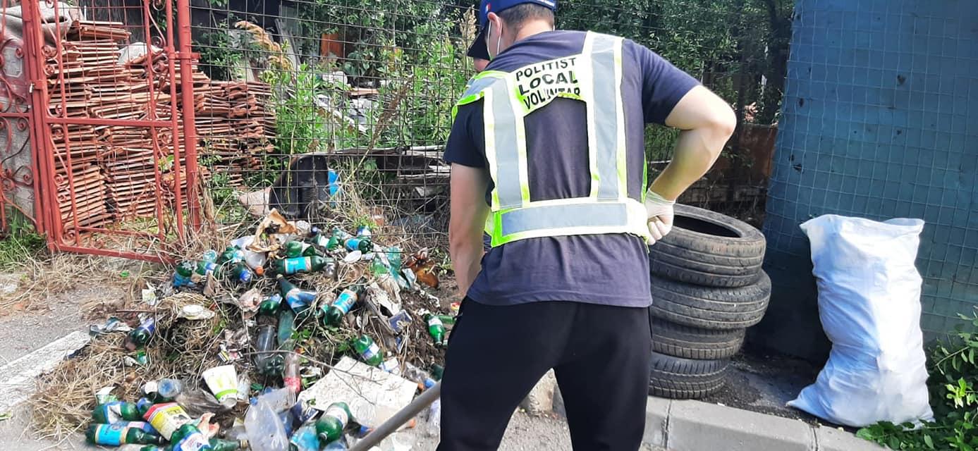 Polițiștii locali din Sectorul 2, voluntari de Ziua Mondială a Mediului