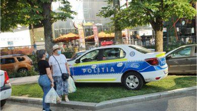 Photo of Robert Negoiță vs. Poliția Capitalei. Mașina cu girofar a parcat pe spațiul verde, primarul s-a enervat