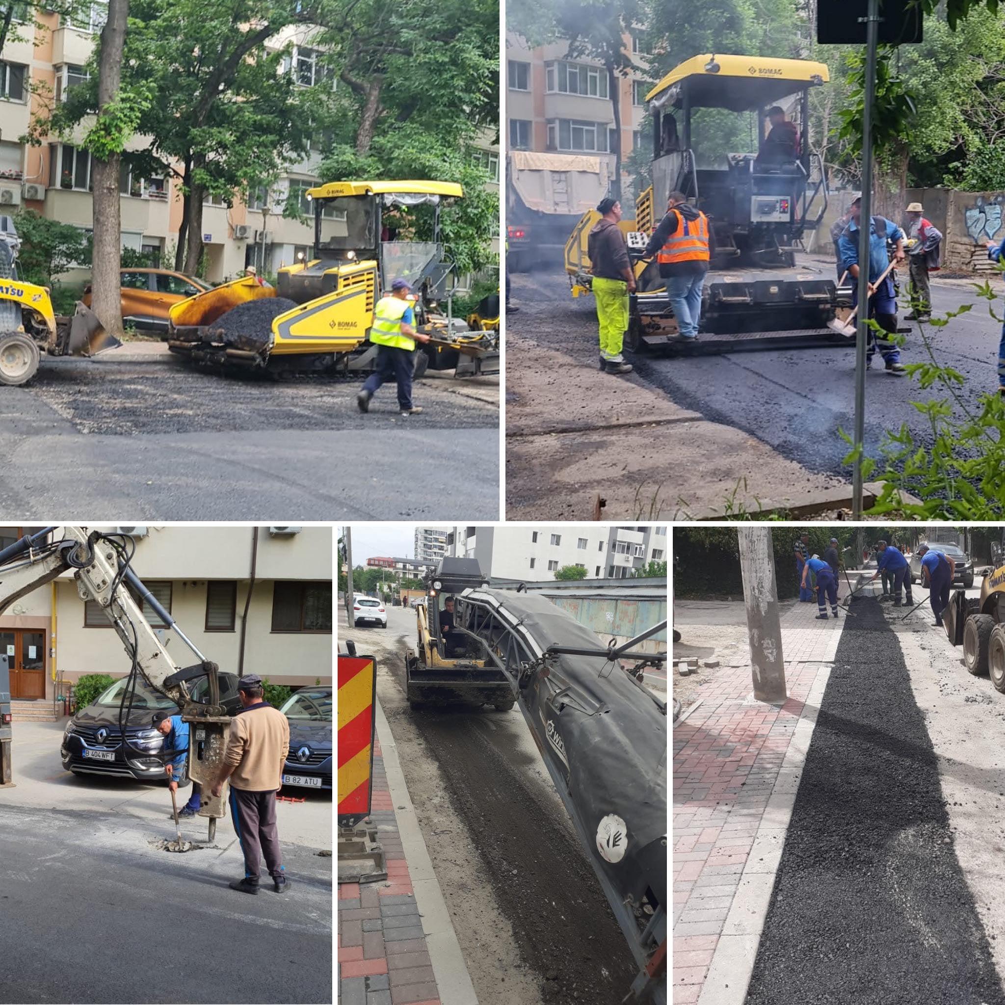 Primăria Sectorului 3 a început reparațiile la carosabil și parcările de reședință