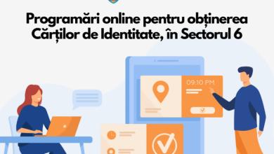 Photo of Programări online pentru buletine, de la 1 iulie, în Sectorul 6
