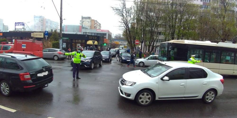 șoferii care au oprit neregulamentar