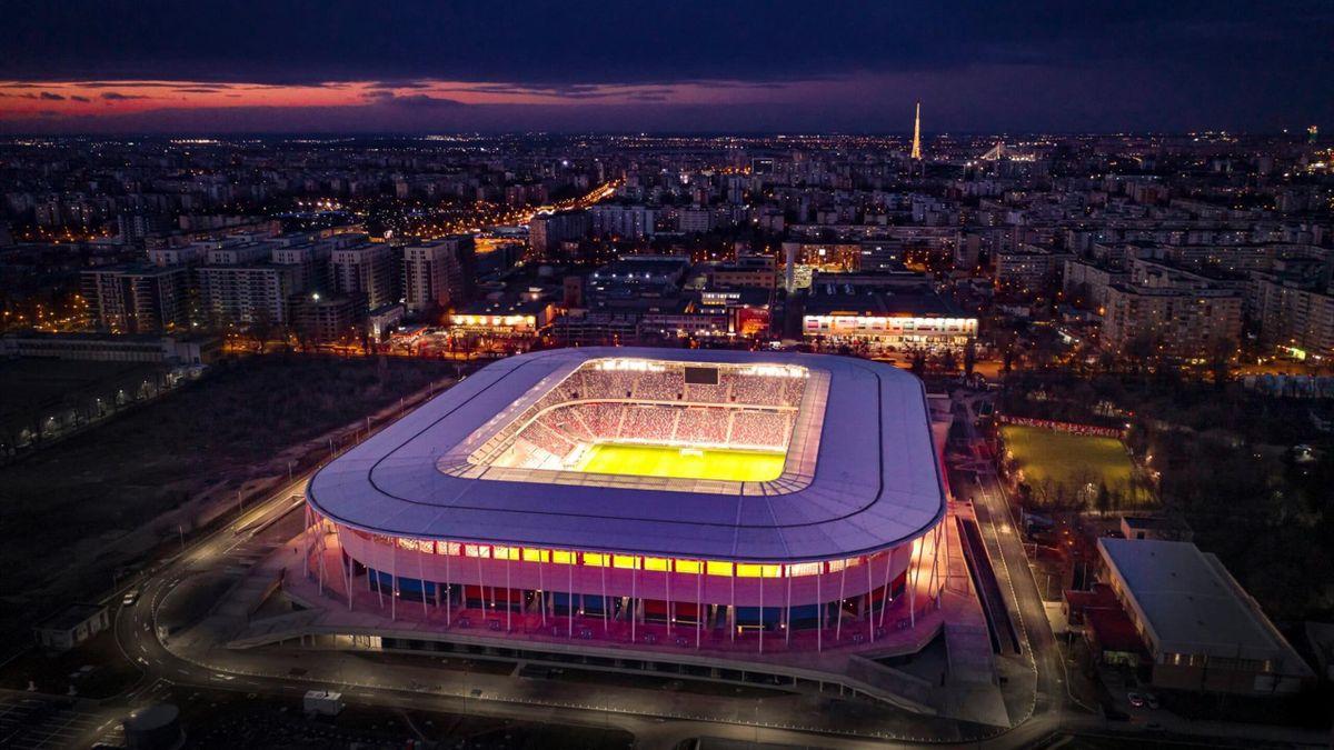 Noul stadion Ghencea va fi inaugurat cu un amical