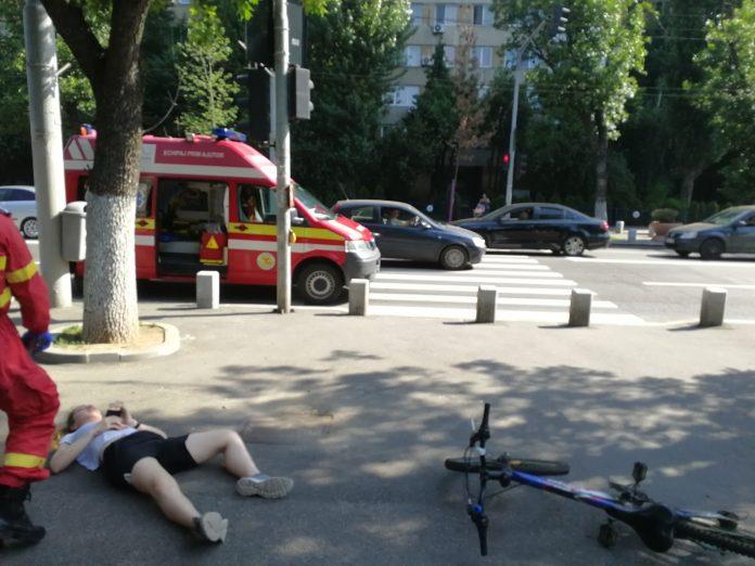 Tânără din București spulberată de o trotinetă electrică