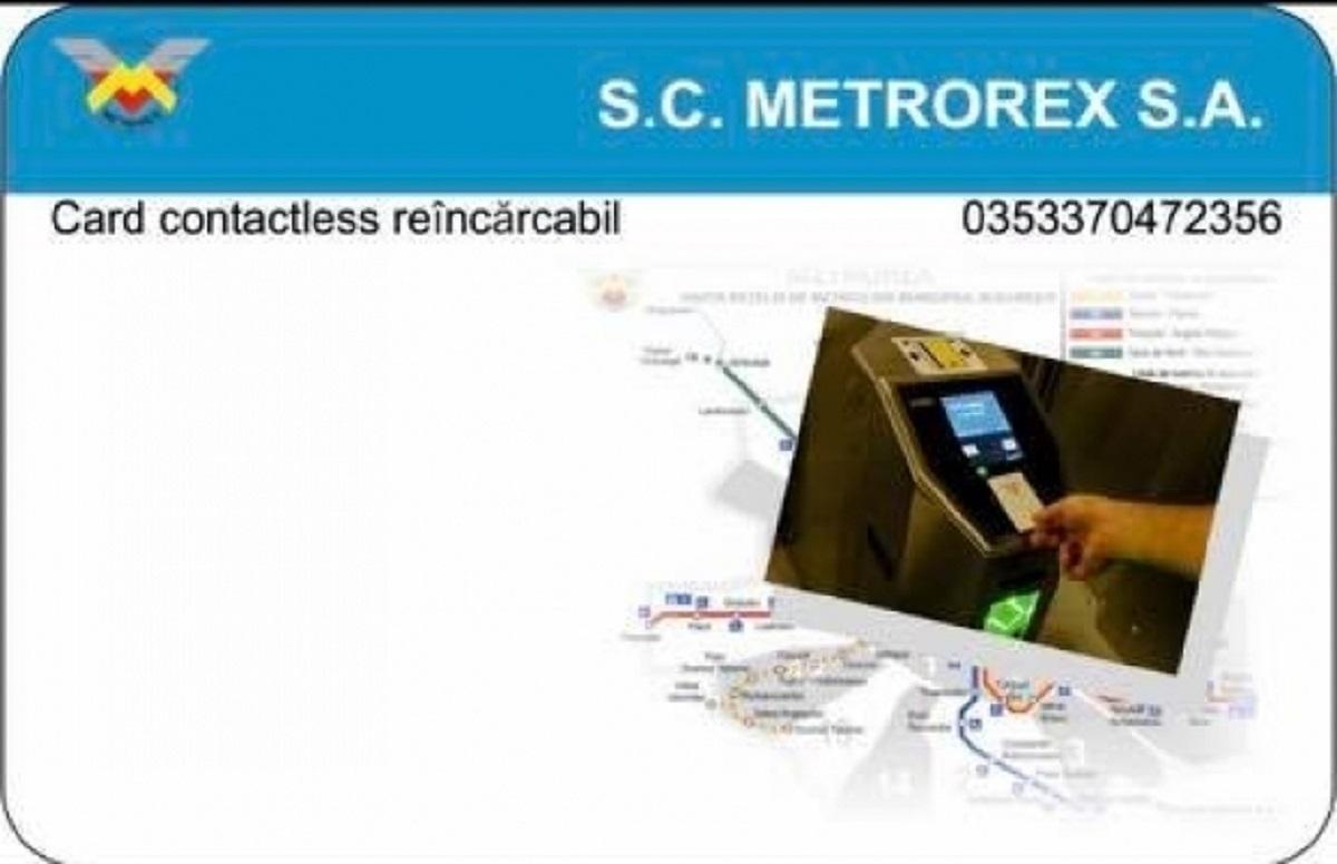 Metrorex introduce cardul contactless pentru abonamente