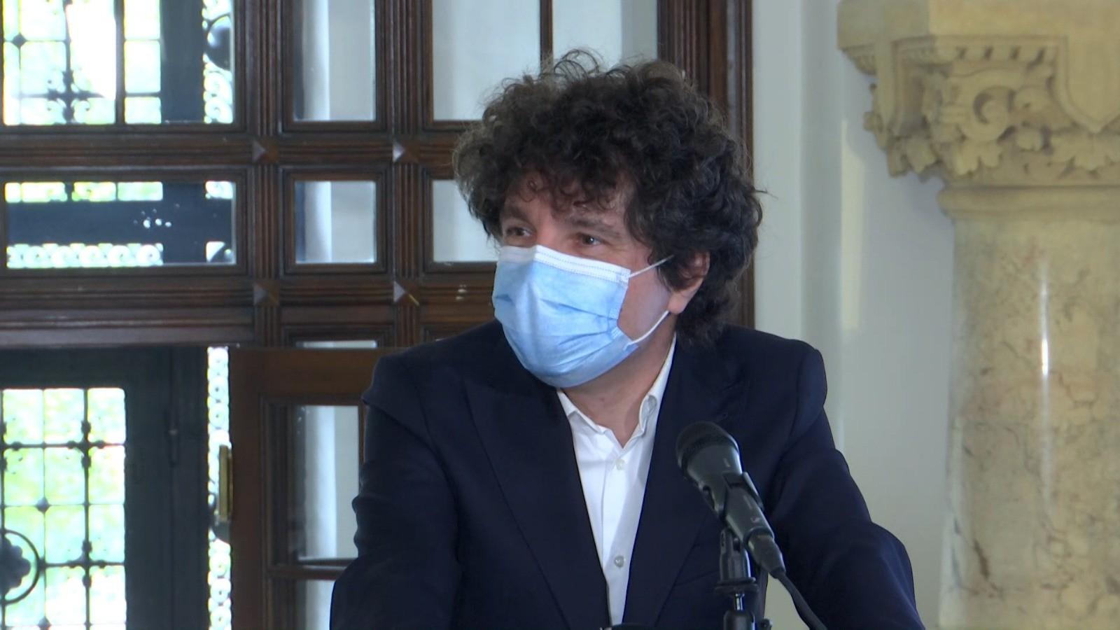 Nicușor Dan dorește înființarea unui centru mobil de vaccinare anti-COVID 19 în Capitală