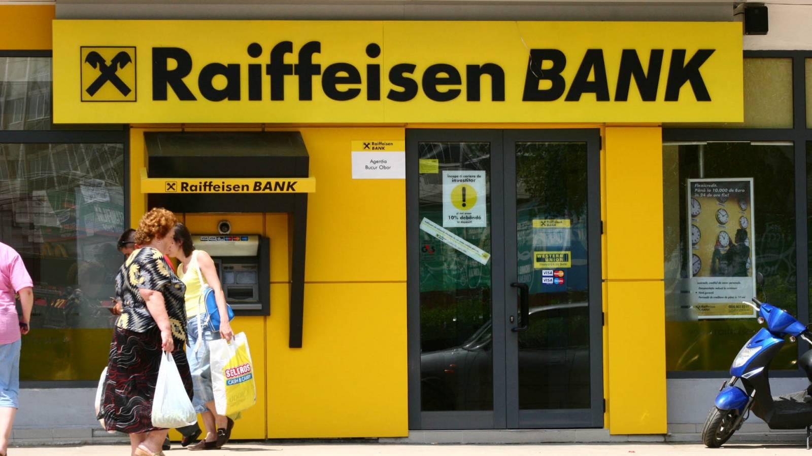 Probleme la cardurile Raiffeisen
