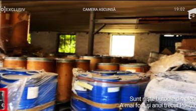 """Photo of 150 de tone de substanțe toxice, depozitate precar într-un grajd din Bragadiru! """"Agent Orange"""", folosit de SUA în războiul din Vietnam. Risc de malformaţii şi cancer"""