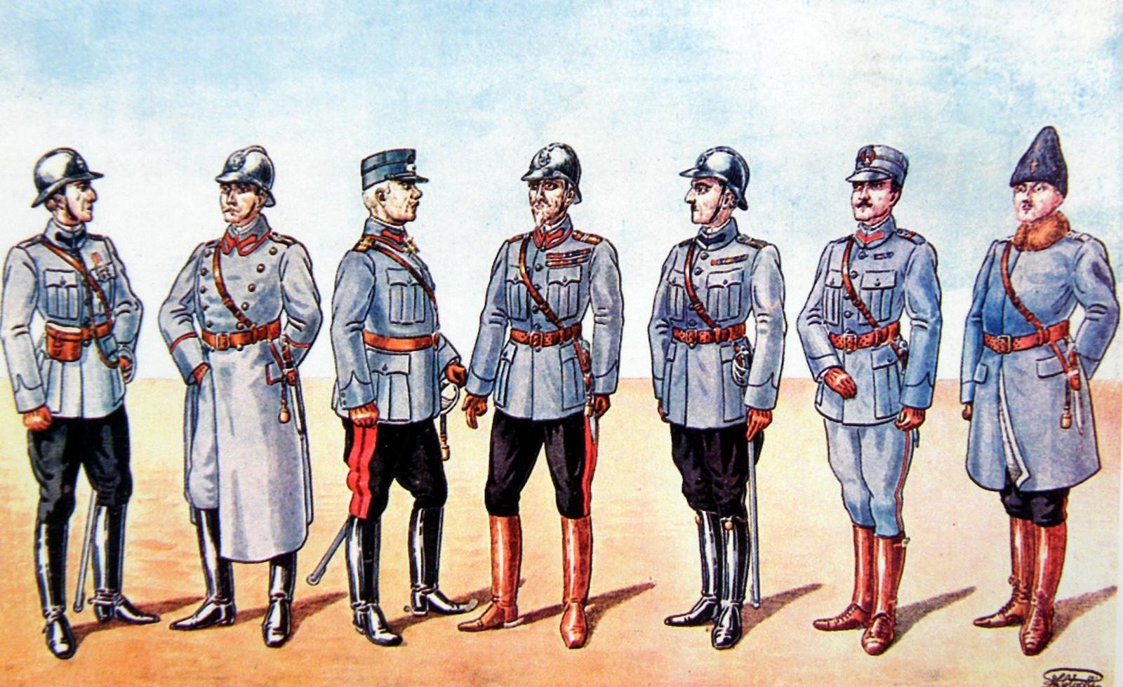 uniforme, armata, romana, razboiul, de, independenta
