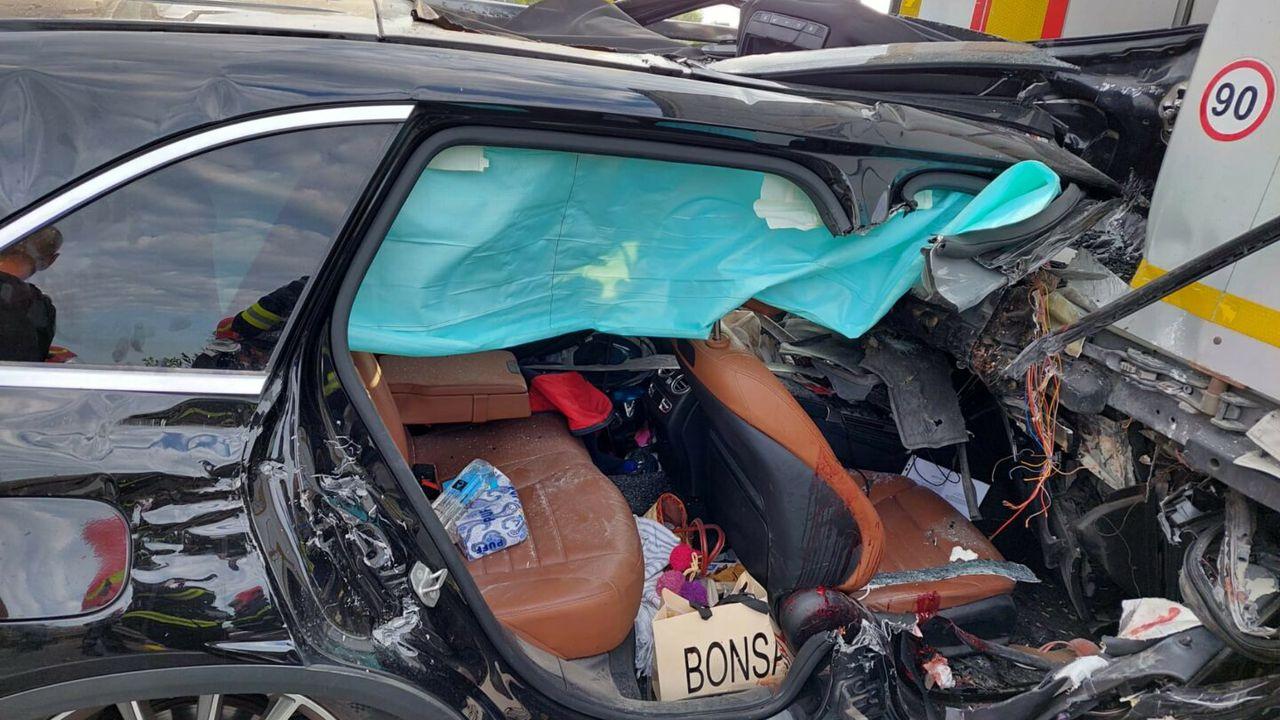 Accident cumplit pe Autostrada Bucureşti – Piteşti