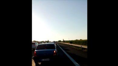 Photo of Accident pe Autostrada Soarelui. O persoană a fost rănită, iar traficul a fost îngreunat