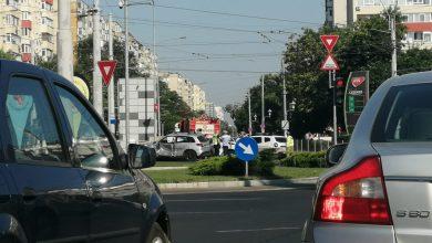 Photo of Accident în zona Piața Sudului. O autospecială militară a lovit o mașină