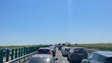 Photo of Accident în lanț cu patru maşini pe Autostrada Soarelui. Victime rănite ușor și trafic îngreunat: Mai mult se stă decât se merge