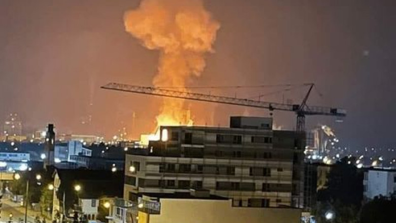 azomureș explozie