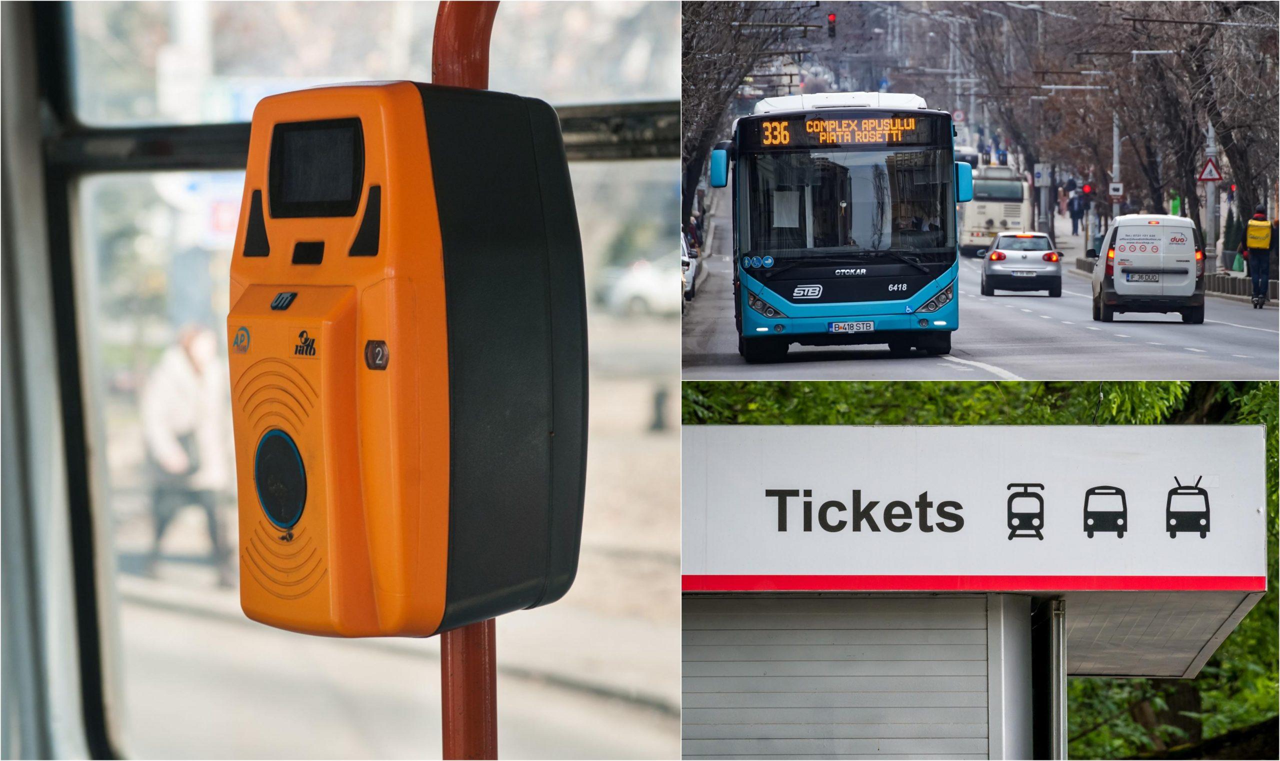 Integrarea transportului public din București şi Ilfov: în august călătorii vor putea valida atât bilete de 1,30 lei, cât şi pe cele de 90 sau de 120 de minute