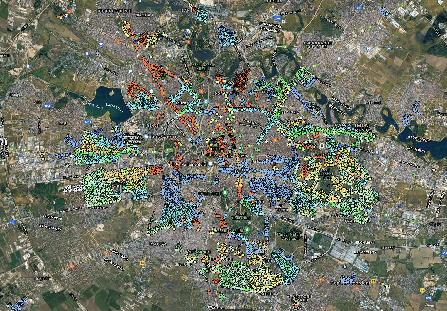 Top cartiere din București care au cele mai scumpe apartamente de vânzare. Un metru pătrat ajunge și la 2.710 euro în Capitală