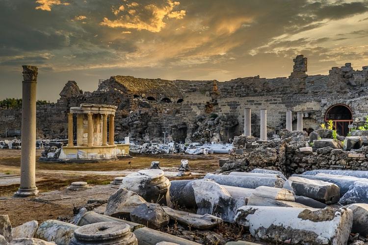 Cele mai populare atracţii turistice din Side, Turcia (P)