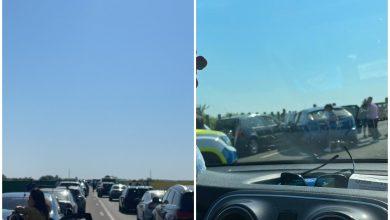 Photo of Accident pe A2, sensul București-Constanța. 5 mașini au fost implicate în coliziune FOTO