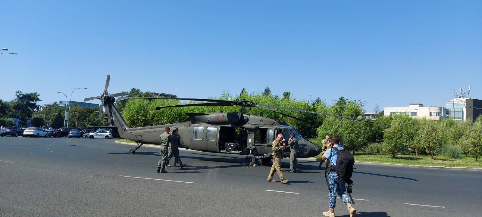 De ce a aterizat elicopterul Black Hawk în București. Ce au descoperit anchetatorii