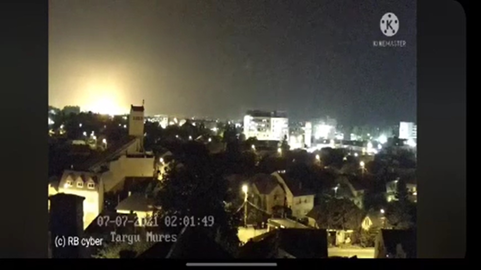 Ministerul Mediului, despre urmările exploziei de la Azomureș: Nu s-au înregistrat creșteri ale concentrației de amoniac