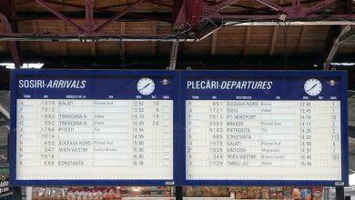 Photo of Ziua și gafa în Gara de Nord. Un tren a plecat gol, după ce pasagerii au fost îndrumați spre altă linie din greșeală