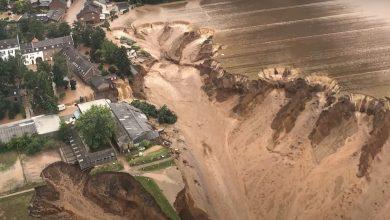 Photo of Inundații devastatoare în Germania. Ploile au dus la o alunecare de teren de mari proporții