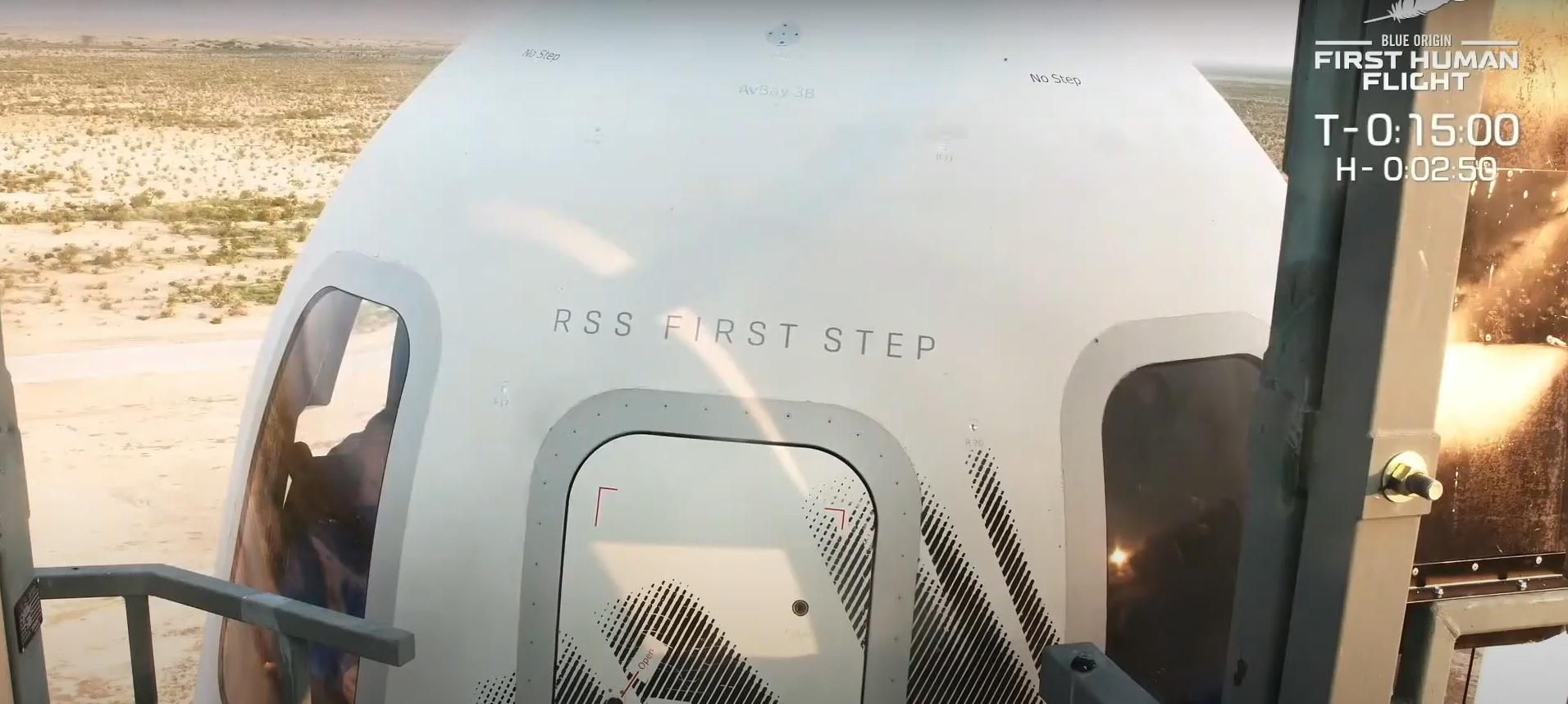 Lansarea Blue Origin. Jeff Bezos zboară în spațiul cosmic VIDEO