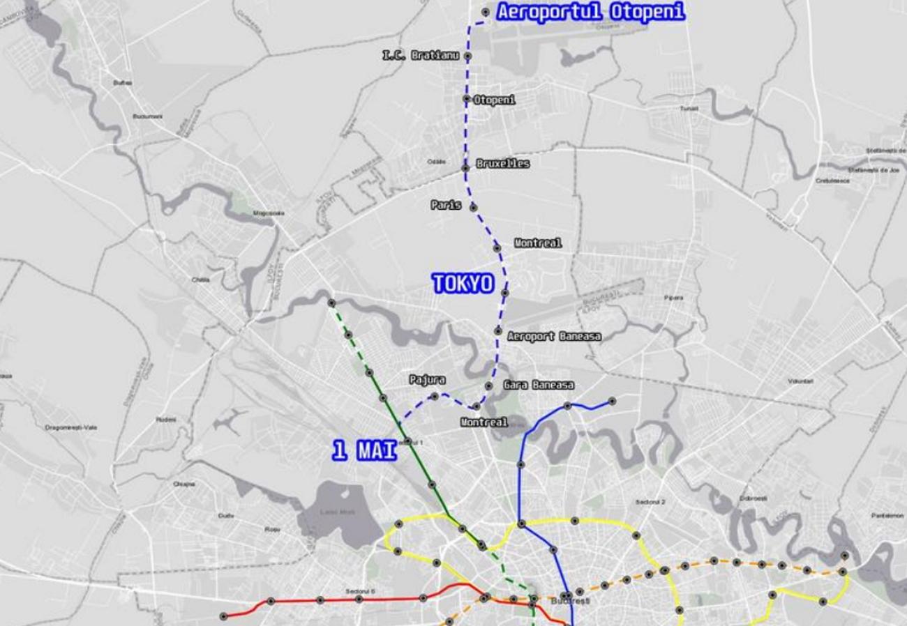 Linia de metrou spre Aeroport întâmpină primele probleme. Două contestații la licitația pentru primul lot al Magistralei 6
