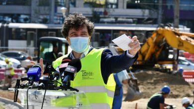 Photo of Nicușor Dan, vizită pe șantierul Pasajul Doamna Ghica. Primarul a spus când urmează să fie reluat traficul