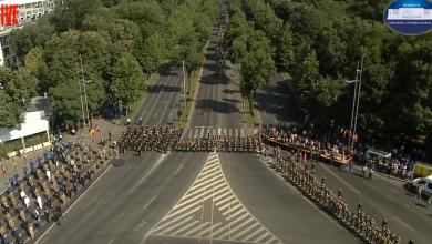 Photo of De-asta e haos în traficul din Nordul Bucureștiului. Ceremonii pentru militarii întorși acasă din misiunea în Afganistan LIVE VIDEO