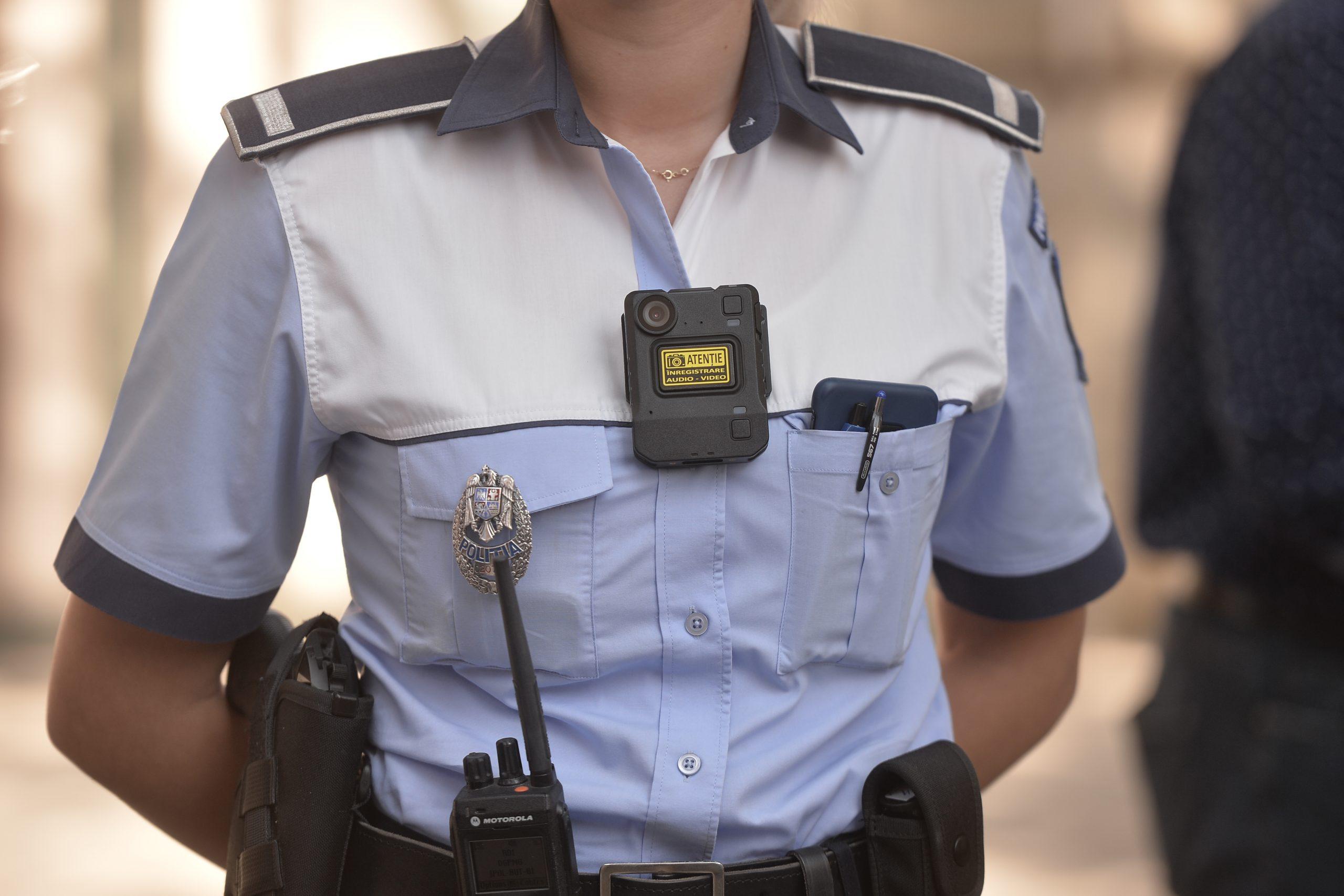fals polițist din București