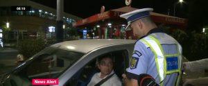 Polițiștii au lăsat 21 de șoferi fără permis în București. Un șofer jură că n-a băut, a mâncat curmale