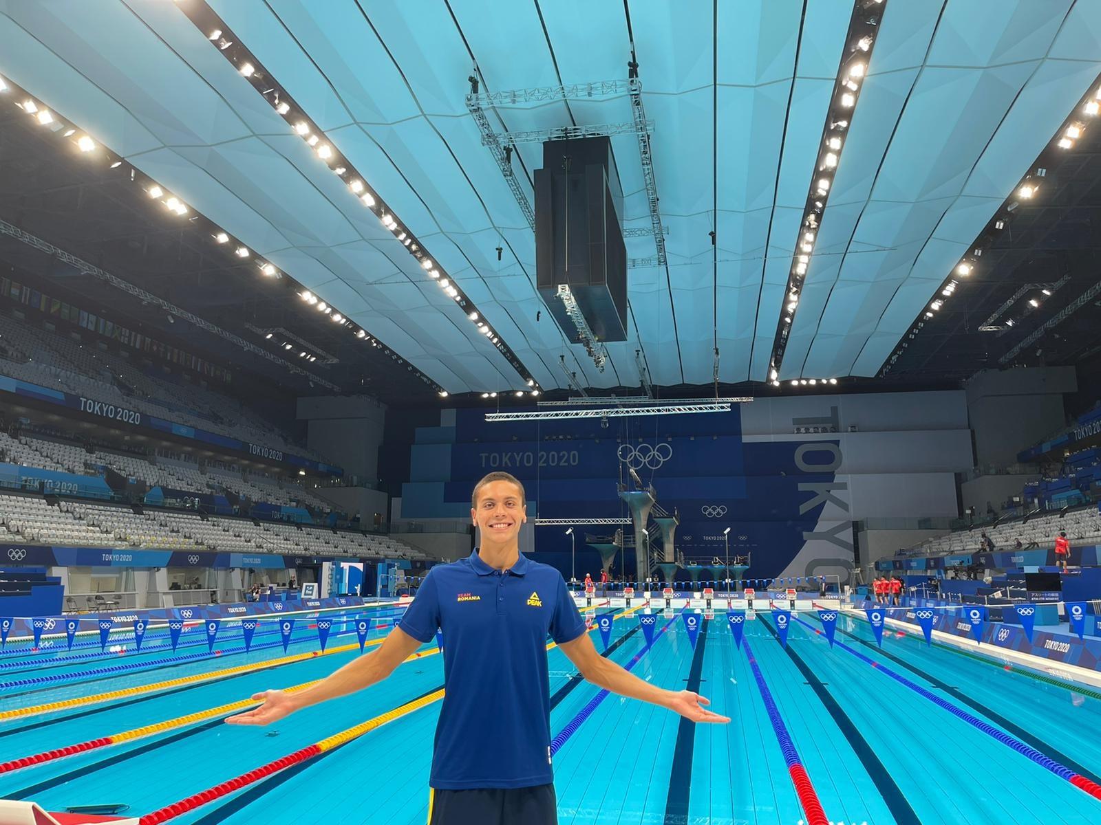 David Popovici, un adevărat fenomen recunoscut de presa mondială. Înotătorul român de 16 ani doboară record după record și impresionează la JO 2020
