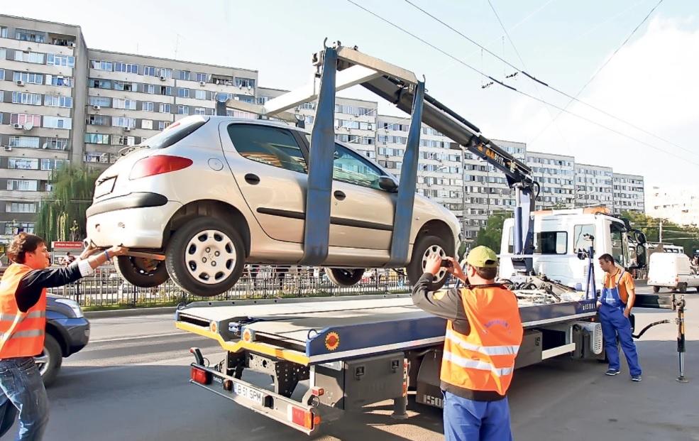 Mașinile parcate ilegal în Sectorul 1 vor fi ridicate