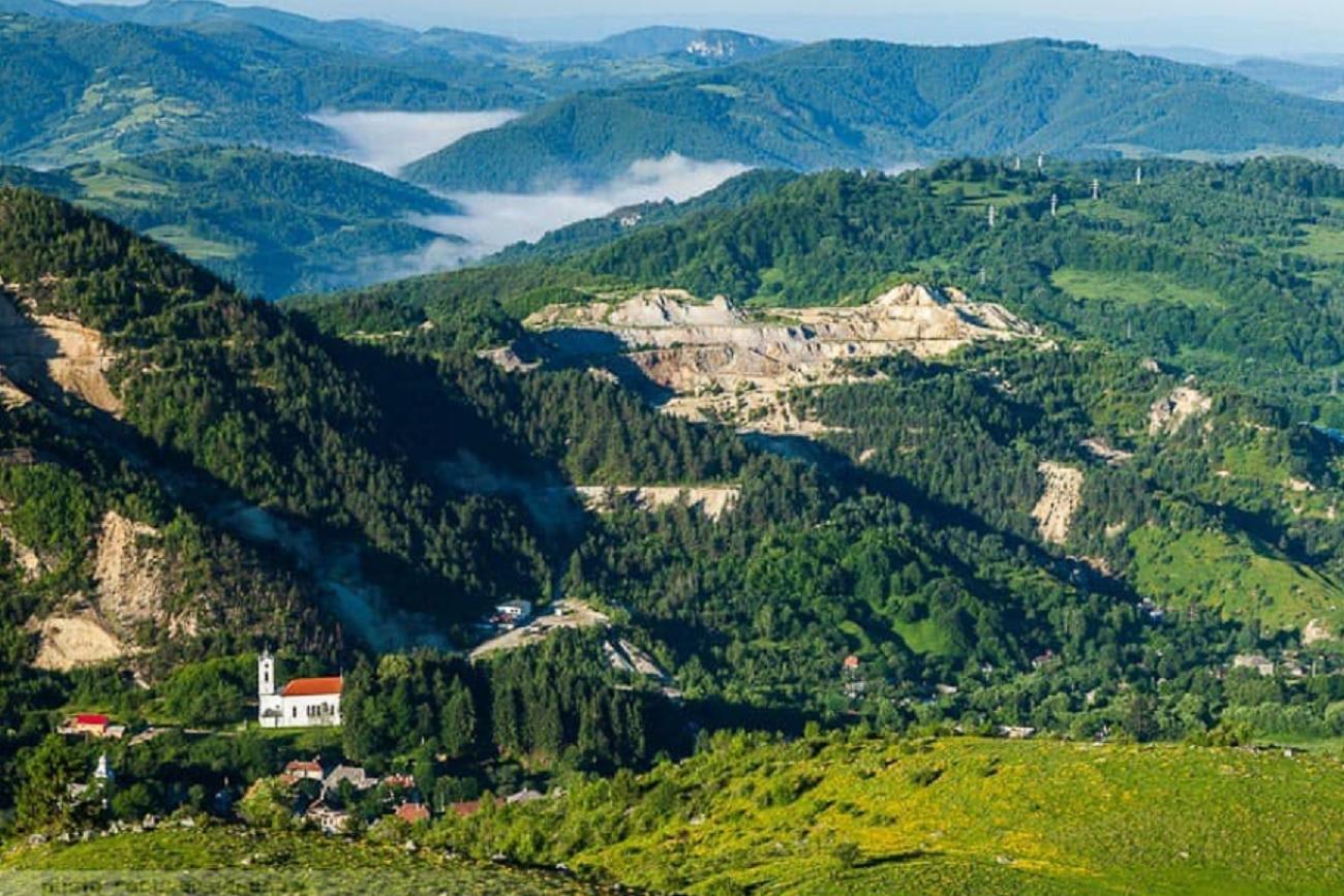 Roșia Montană a fost înscris în patrimoniul mondial UNESCO