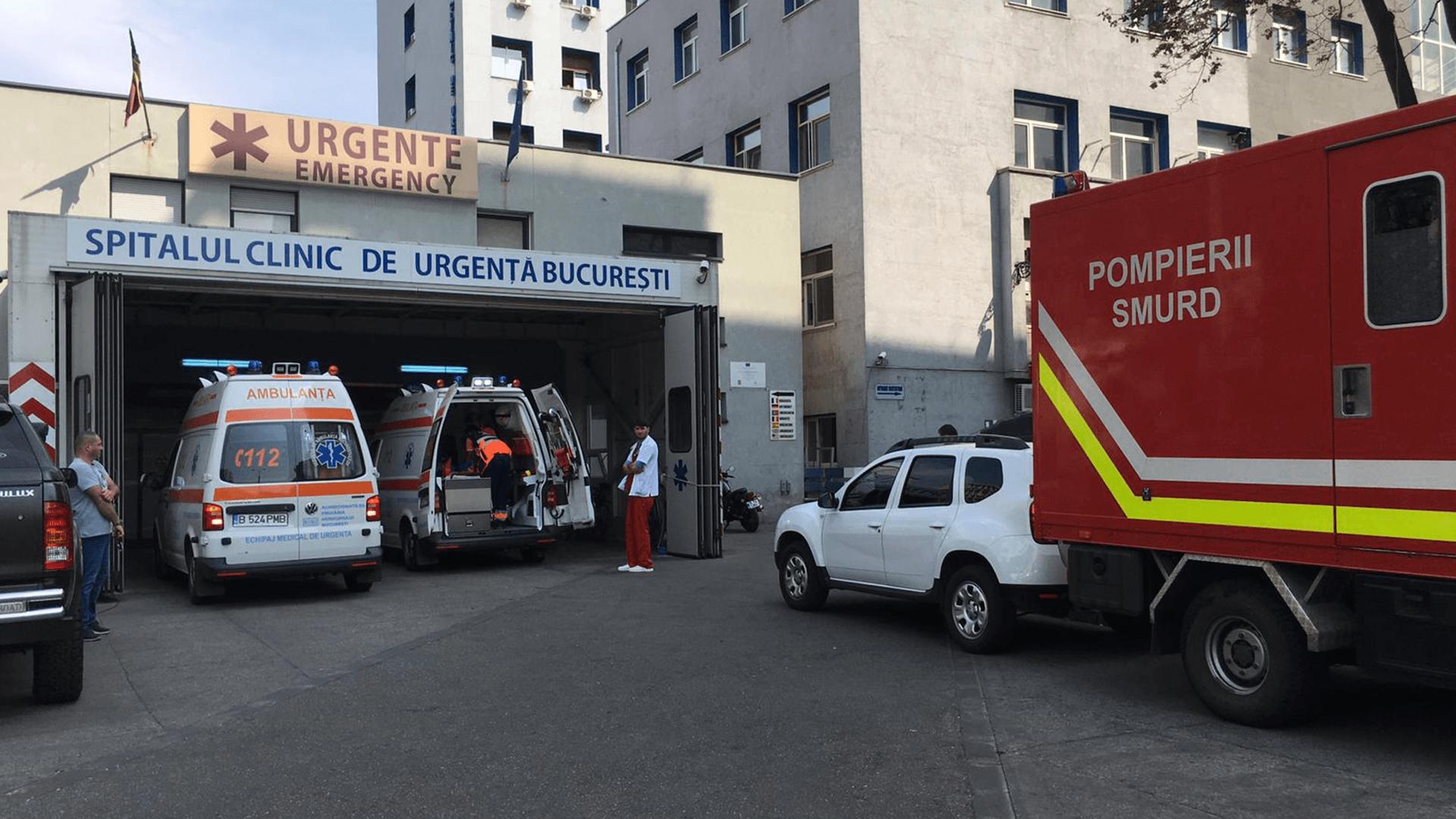 Una dintre victimele incendiului de la Popești Leordeni a murit la Spitalul Floreasca