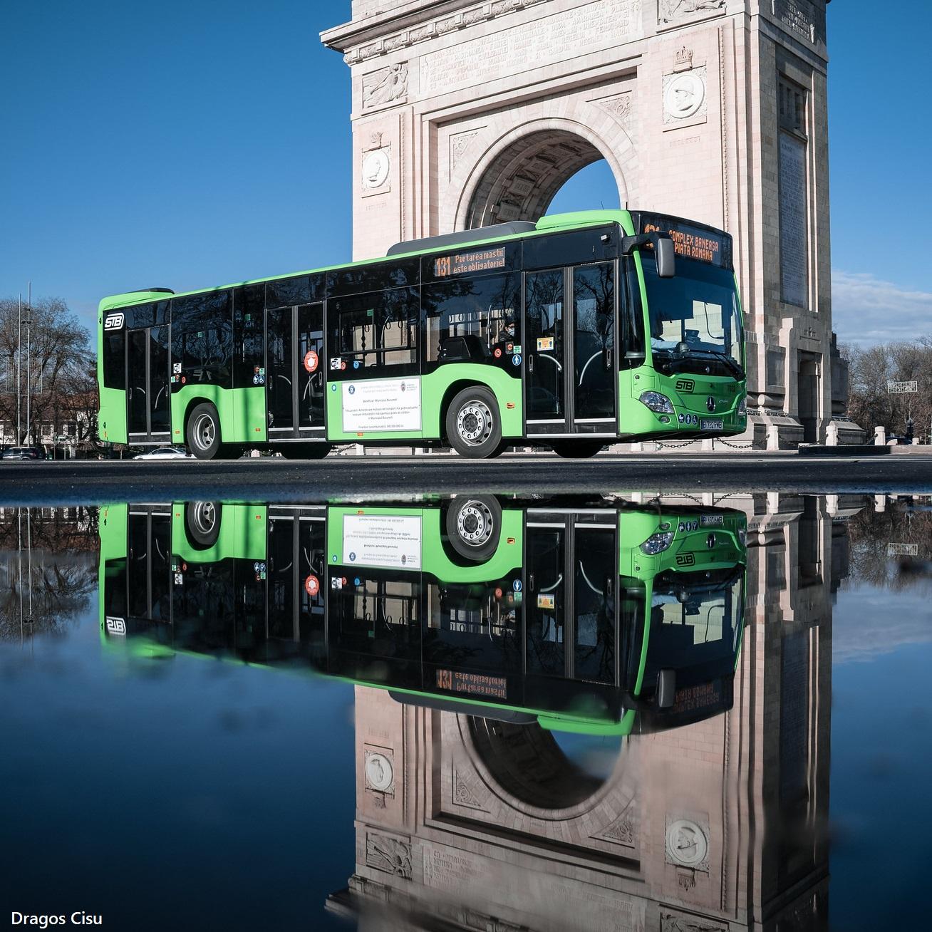 STB modifică trasee. Autobuzele care circulă în zona Piața Arcului de Triumf vor avea alte rute
