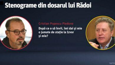 Photo of Piedone, înregistrat de DNA într-o convorbire cu Ion Rădoi, șeful sindicatului de la metrou. Prima reacție a primarului
