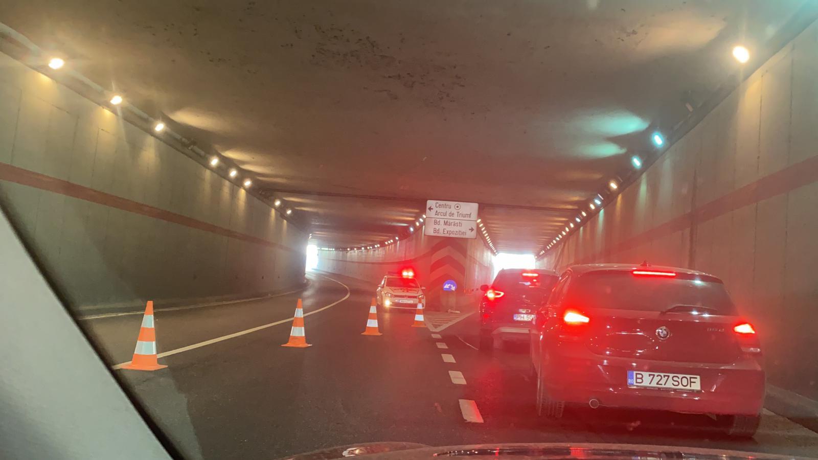 Aglomerație în trafic în Nordul Capitalei. Pasajul Kisseleff este restricționat dis-de-dimineață