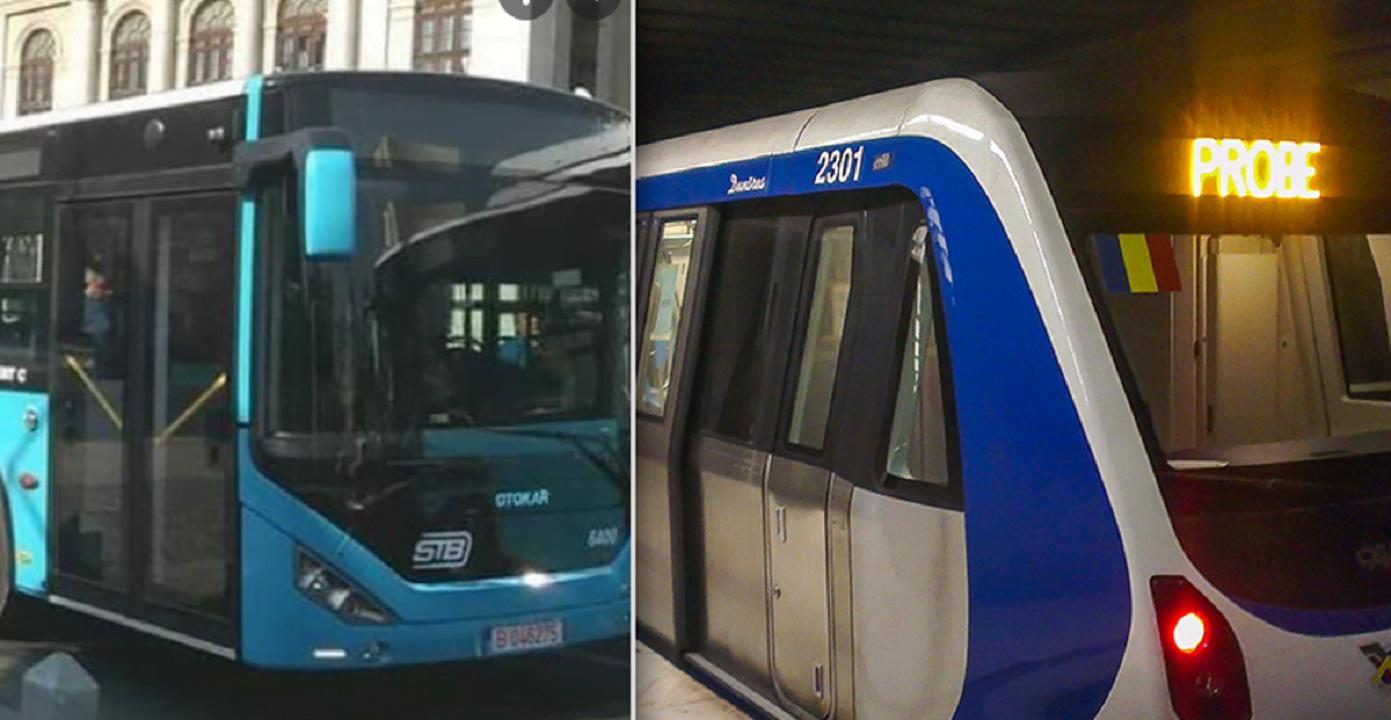 Biletele STB și călătoria cu metroul sunt mai scumpe de astăzi