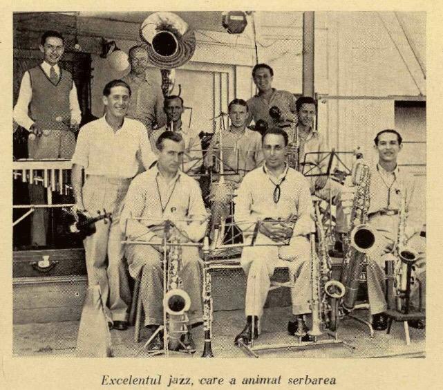 orchestra, jazz, lido, interbelic
