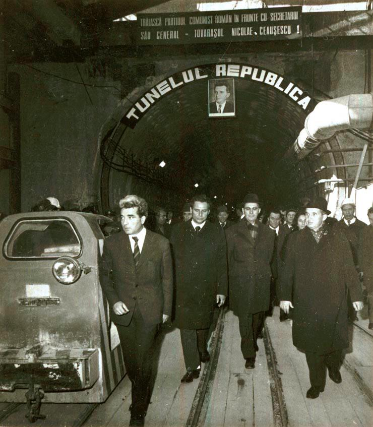ceausescu, metrou
