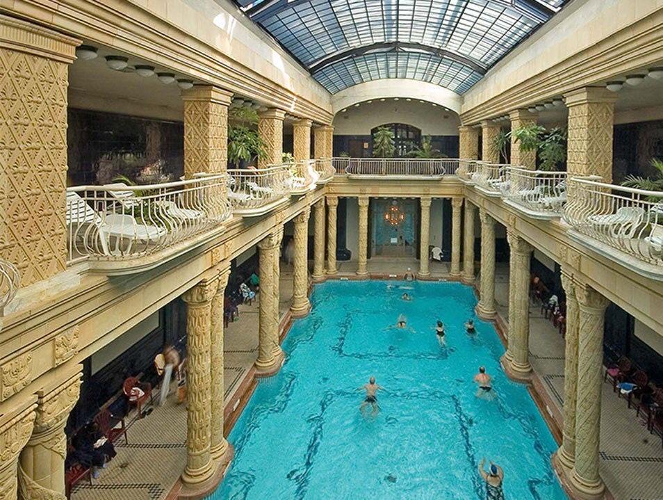 piscina, acoperita, budapesta