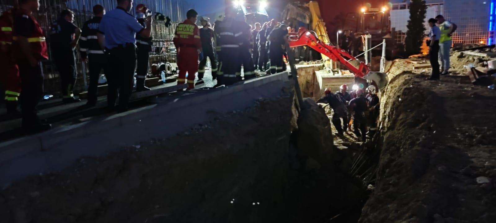 Amenzi de zeci de mii de lei după tragedia de pe șantier. Prefectul Capitalei a intervenit: Aşa ceva nu ar trebui să existe