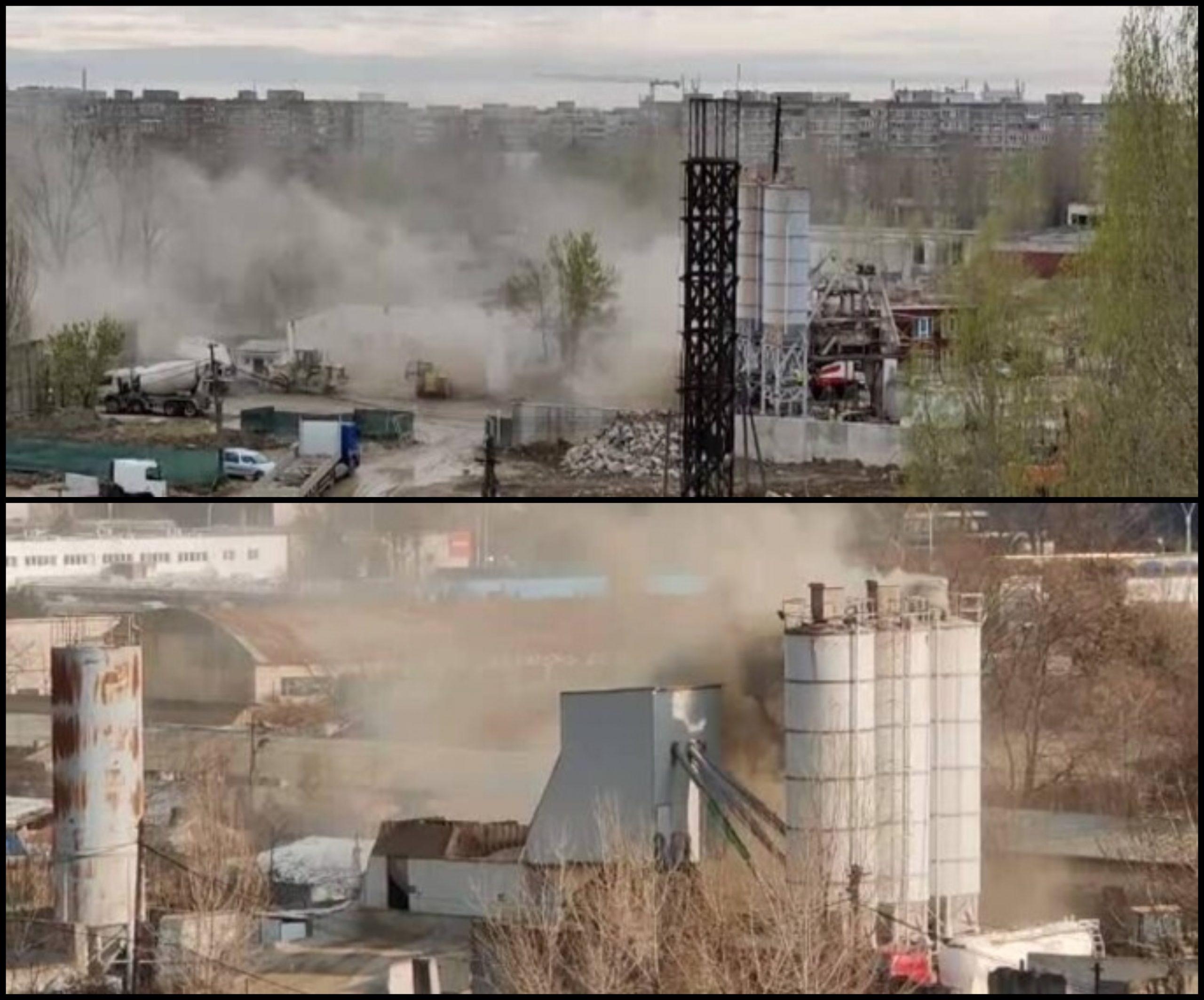 Un praf ucigaș se ridică zi de zi deasupra Bucureștiului și ne omoară încet, dar sigur. Vine de la şantierele şi staţiile de beton din Capitală, dar nimeni nu face nimic