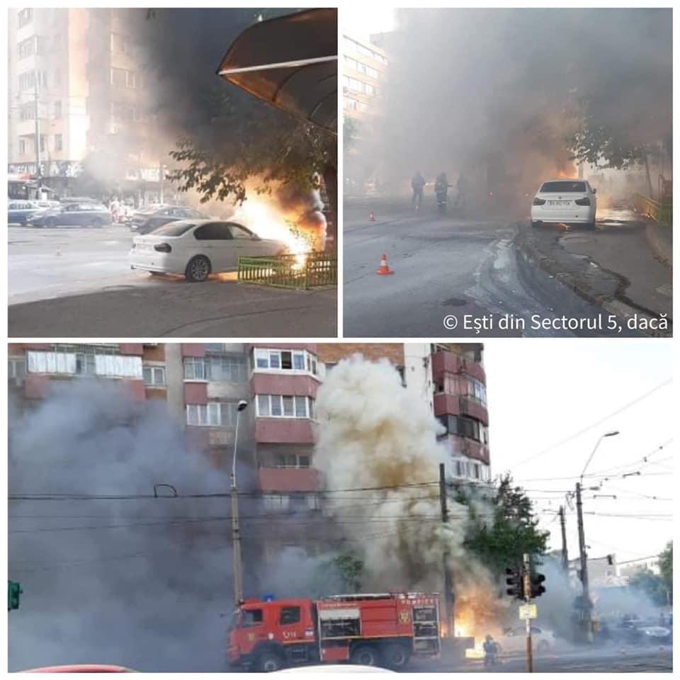 BREAKING NEWS   Trafic paralizat în zona Piața Rahova. Două incendii serioase s-au produs în zonă. Circulația în zonă este blocată   FOTO & VIDEO