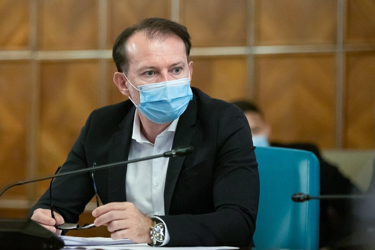 """Florin Cîțu anunță o nouă inițiativă pentru a încuraja vaccinarea românilor. Fiecare român vaccinat va primi un voucher de 100 de lei, și, de asemenea, va începe și """"Loteria Vaccinării"""""""