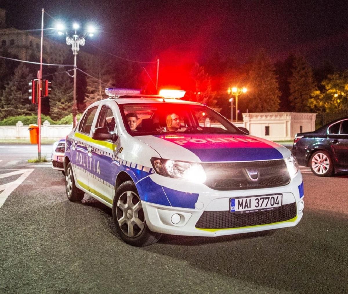 Realitatea bate filmul. S-au tras focuri de armă în București, după ce un șofer nu a vrut să oprească la semnalul polițiștilor