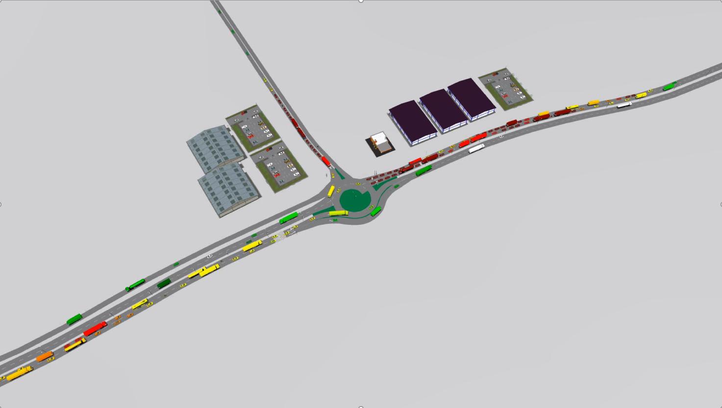 Au început lucrările de construcție a unui sens giratoriu modern în Otopeni. Cu ce este acesta diferit față de un giratoriu obișnuit