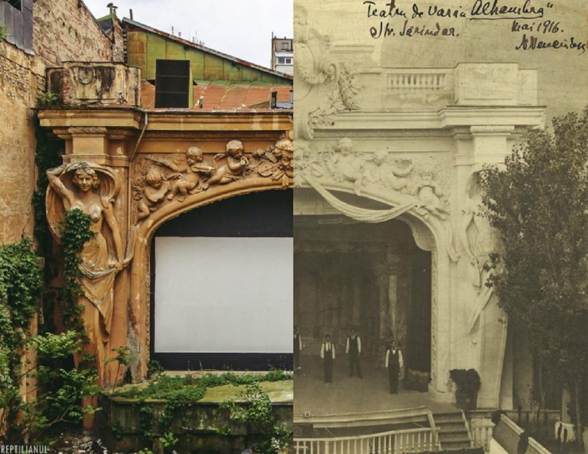 Grădina Alhambra din București. Se redeschide după mai bine de 30 de ani